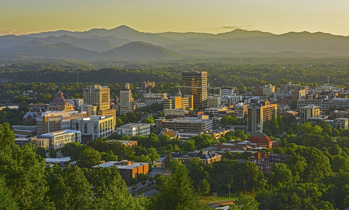 ASHEVILLE MORNING LIGHT