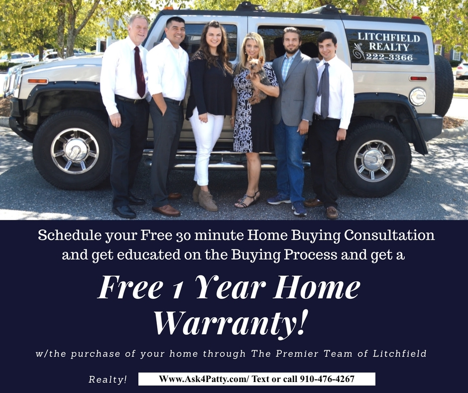 Free Home Warranty with Buyer Consultation!