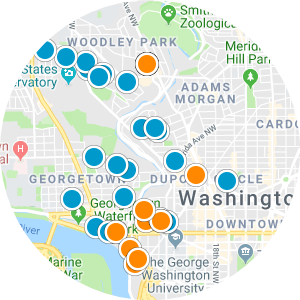 Penn Quarter & Chinatown Real Estate Map Search