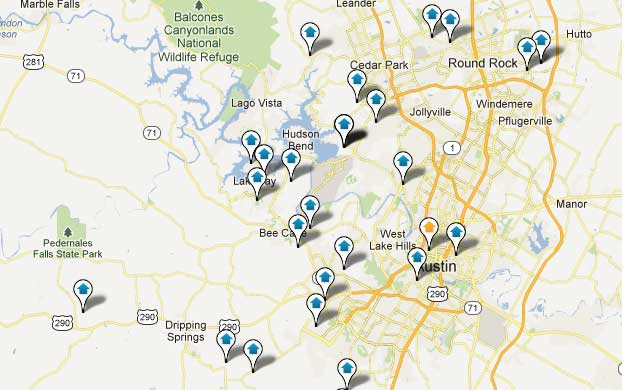 Austin Foreclosure Map Search