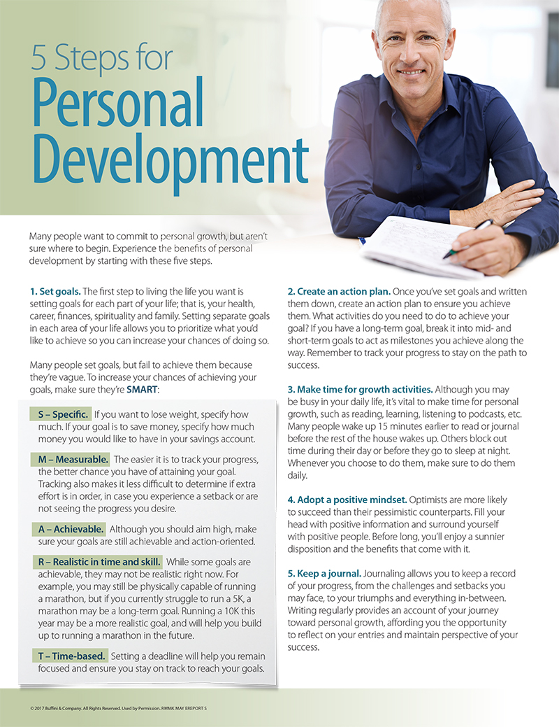 5 Steps for Personal Development | Lori Wakefield REALTOR | www.AustinRealEstateGroup.com