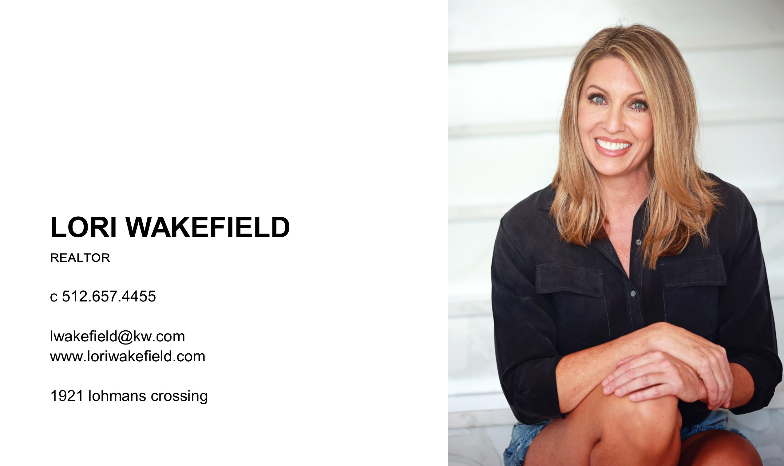 Lori Wakefield REALTOR   Keller Williams Lake Travis