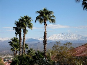 Four Peaks from Fountain Hills