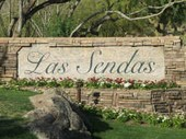 Las Sendas homes monument