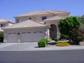 Typical Tempe two story home