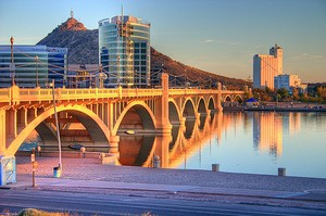 Tempe Townlake Bridge