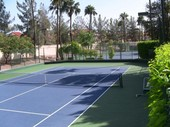 Val Vista Lakes tennis court