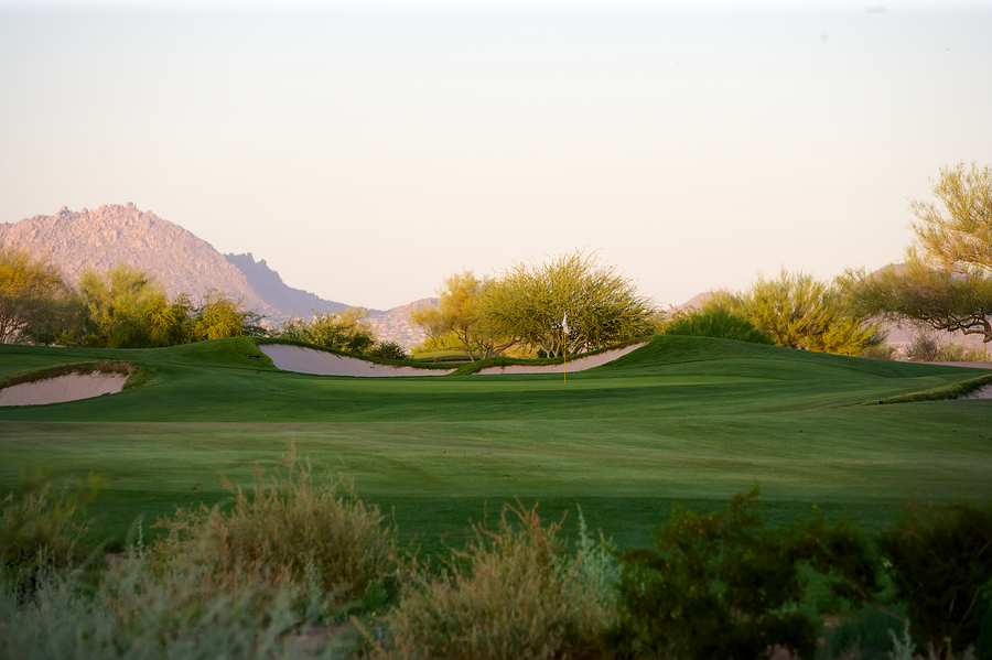 Play golf on Scottsdale real estate.