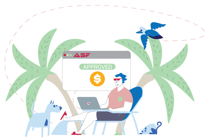 Get a loan with ASF Mortgage