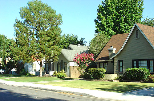 Downtown Bakersfield homes