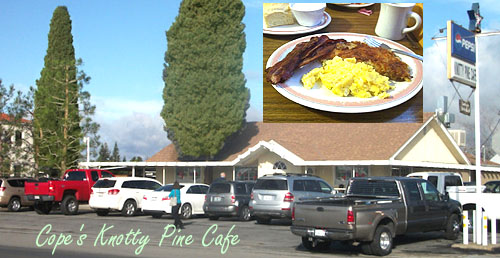 Copes Knotty Pine Cafe