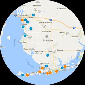 Orange Beach Real Estate Map Search