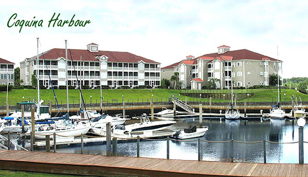 The condos at Coquina Harbour