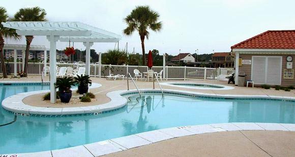 Harbourfront Villas pool