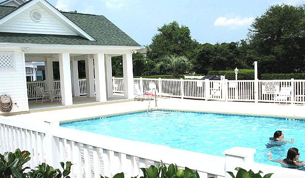 Pool for Eastport Moorings and The Oaks