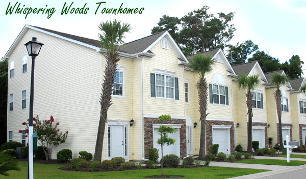 Townhomes for Sale in Whispering Woods