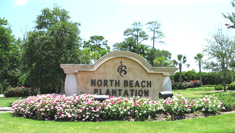 Entrance to North Beach Plantation