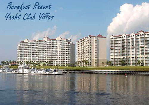 Yacht Club Villas in Barefoot Resort