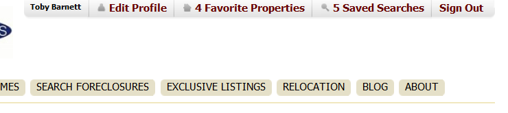Viewing Favorite Properties