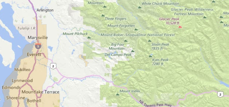 Snohomish County USDA Zero Down Home Loan Financing Information - Usda area eligibility map
