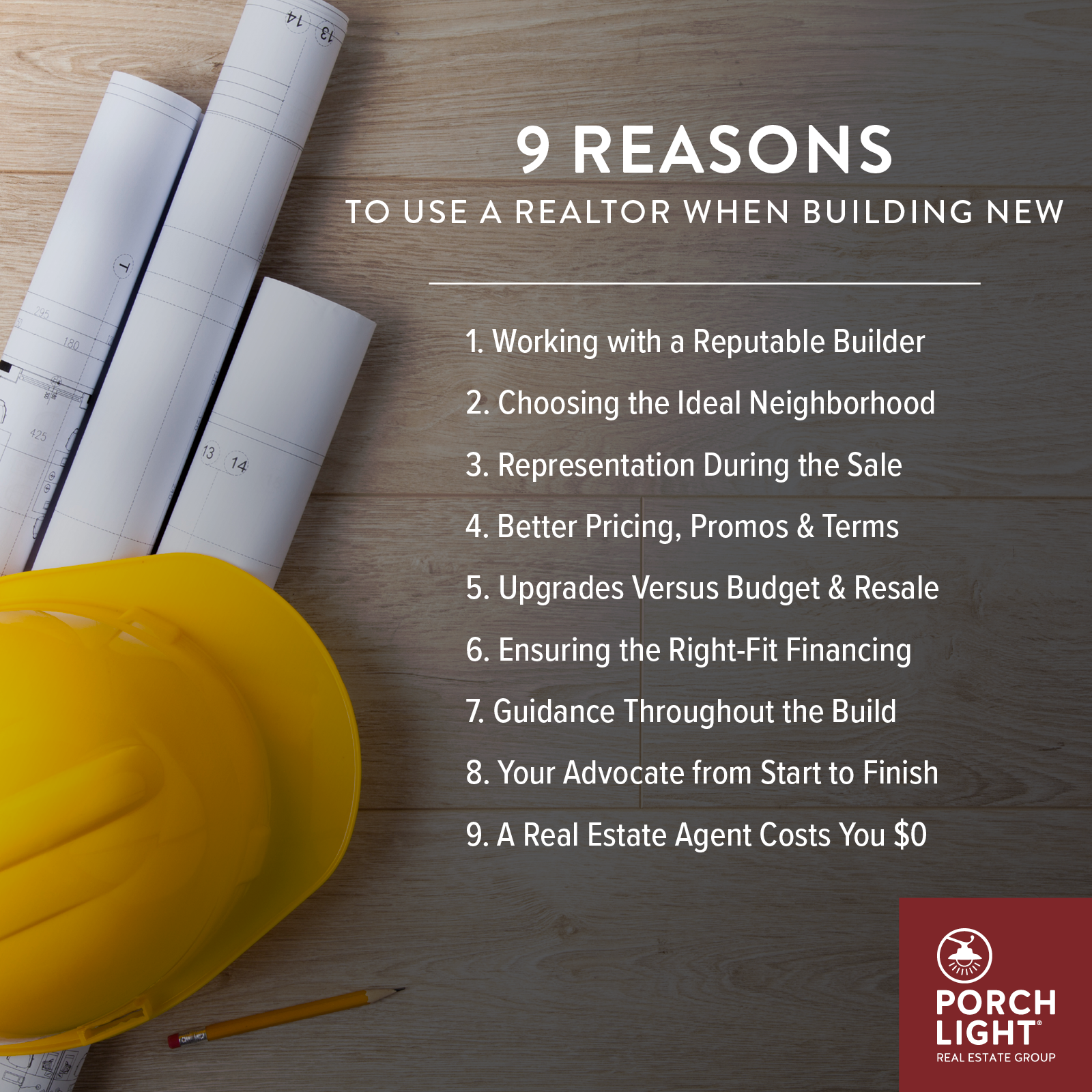 9 Reasons to Use a Realtor When Building New