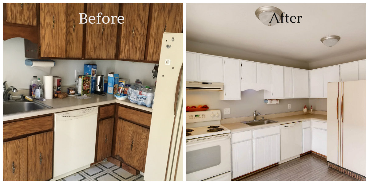 9475 W UUtah Before & After Kitchen