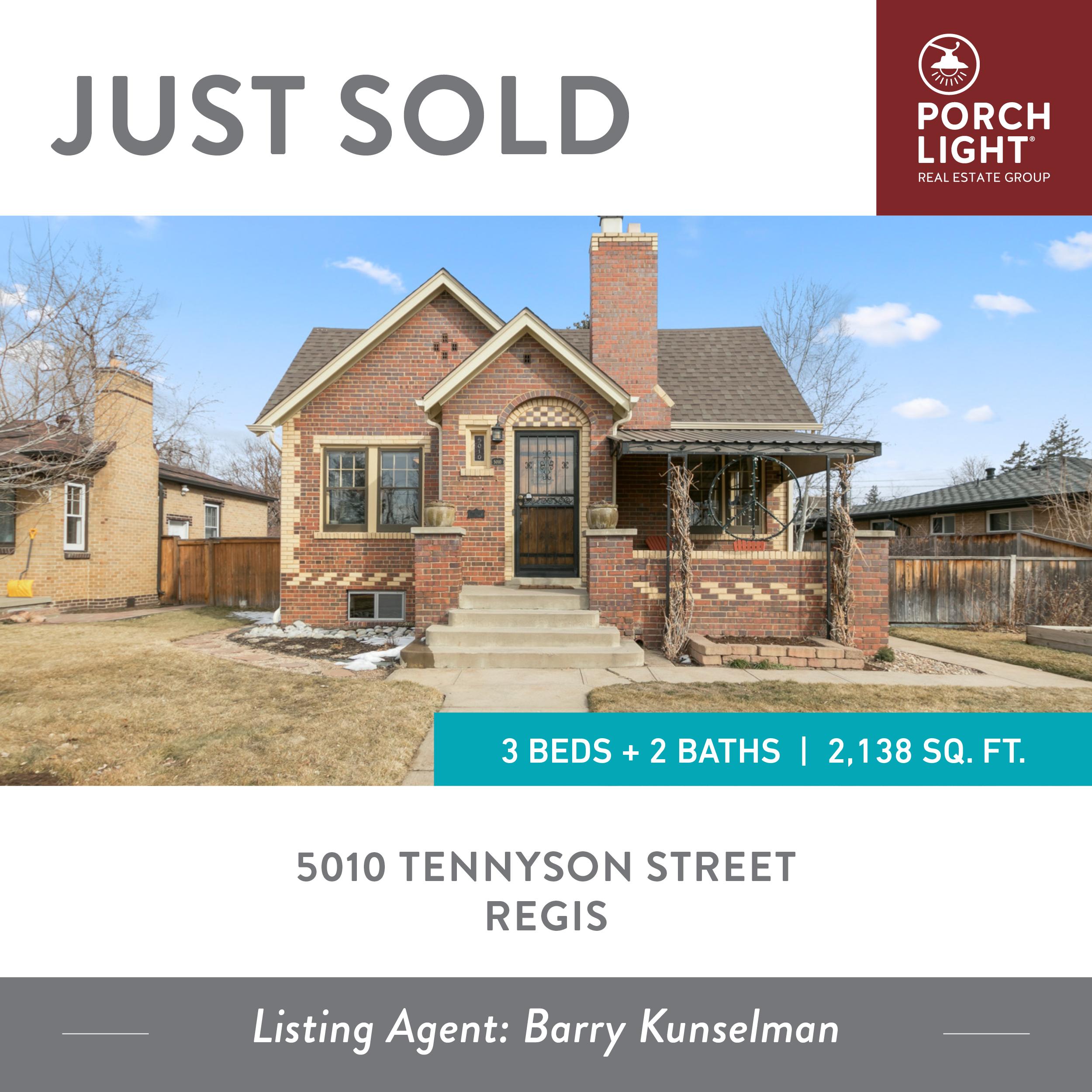 5010 Tennyson Street Denver CO 80212