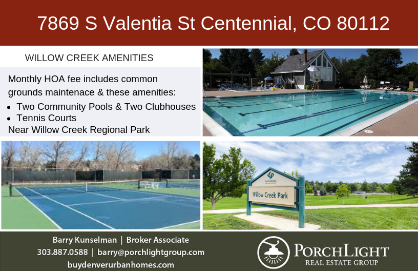 Willow Creek Amenities