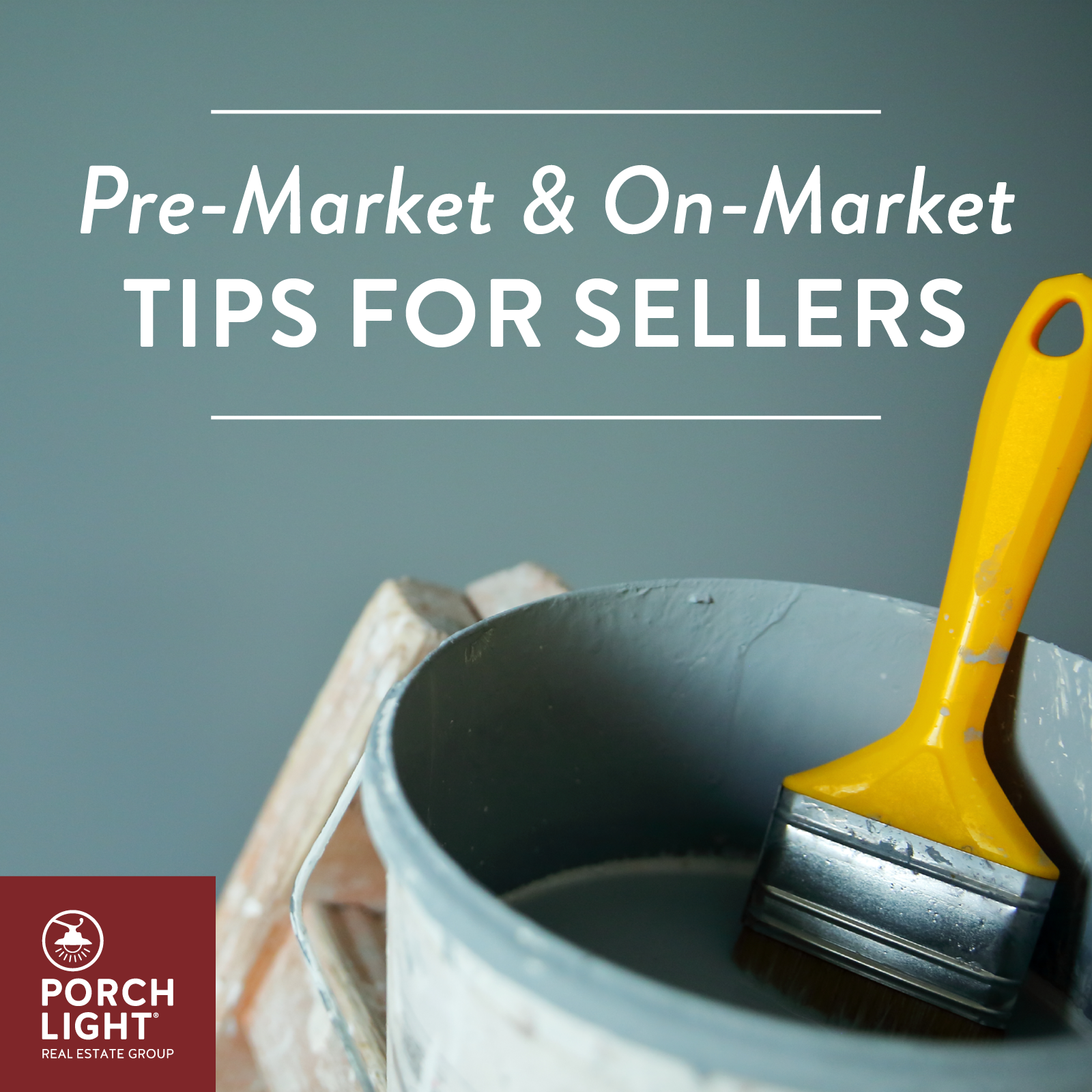 Tips for Sellers, Pre and On-Market