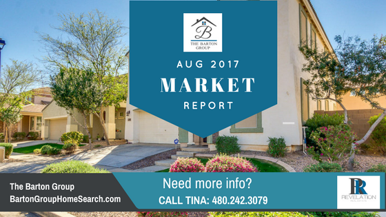 Aug 2017 Metro Phoenix Real Estate Market Update