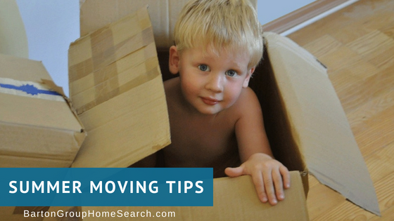 Southeast Valley Summer Moving Tips