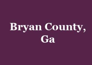 Bryan County Ga