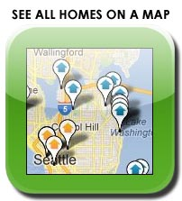 Map Search Downtown Bellevue homes for sale