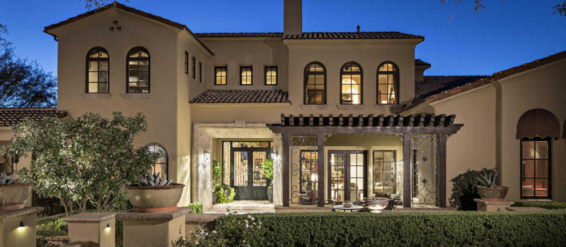 scottsdale Mediterranean Revival style homes for sale