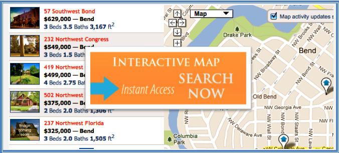 Map Search - Homes & Real Estate For Sale in Bend, OR