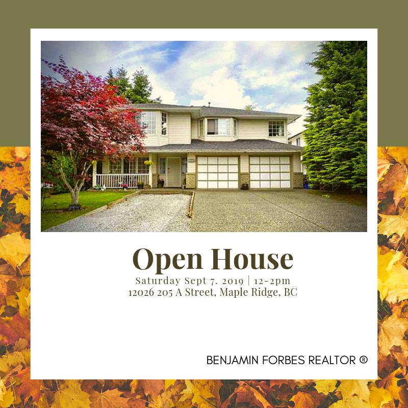 September 7, 2019 - Open House