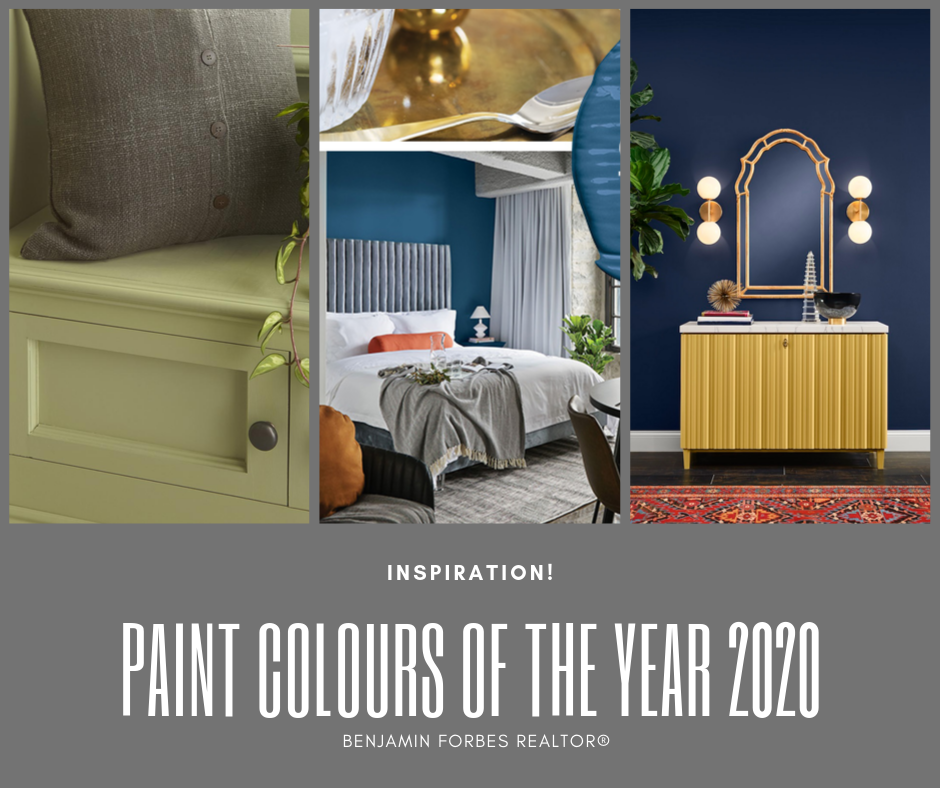 Paint Colour Trends 2020