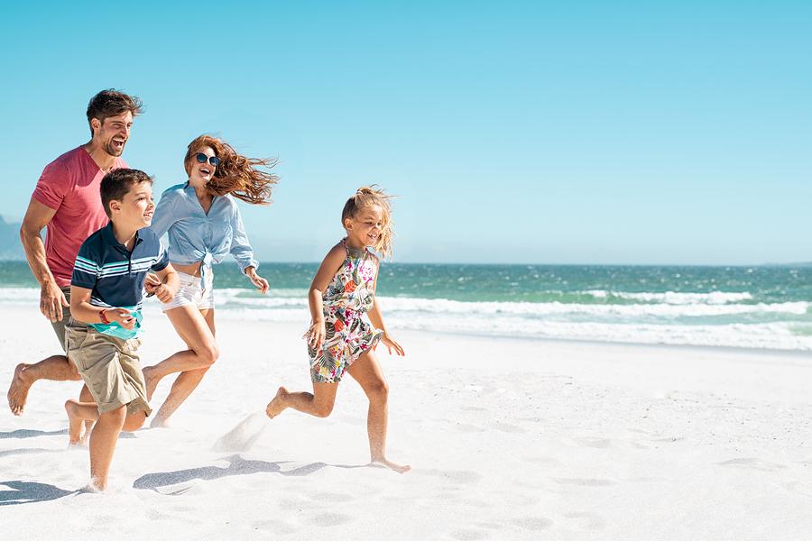 Go to the beach near Carlsbad homes.