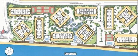 Coronado Shores Map