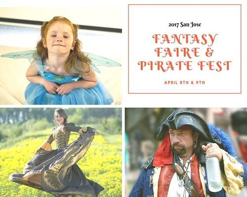 The 2017 San Jose Fantasy Faire and Pirate Fest encourages guests to dress up as princesses, fairies, knights, queens, kings, pirates, wenches or any of fantasy-inspired creature that suits your fancy.