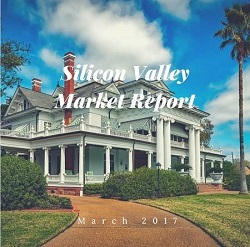 Inventory continues to decrease while prices go up, according to the Silicon Valley Market Report for March 2017. Be prepared to see multiple offers on Silicon Valley homes.