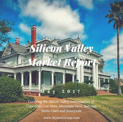 According to the Silicon Valley Market Report - May 2017, inventory levels remain extremely low forcing the average sale price to increase for most Silicon Valley communities.