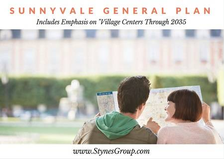 The Sunnyvale General Plan includes implementation of village centers around the City by 2035 to increase its walkability score, lessen our dependence on fossil fuels and help alleviate pollution.