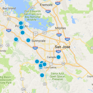 Moffet / Whisman Road Real Estate Map Search