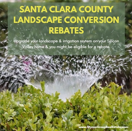 Silicon Valley homeowners may be eligible for any one of the Santa Clara County landscape conversion rebates when switching to more water-efficient irrigation methods.
