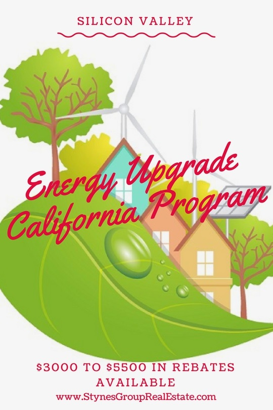 The Silicon Valley Energy Upgrade California Program offers two rebate options: a regular home upgrade (up to $3000 in rebates) and an advanced home upgrade (up to $5500 in rebates).
