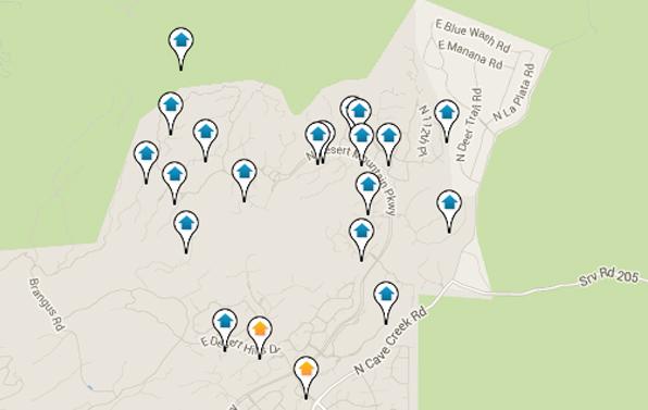 Desert Mountain Home Search