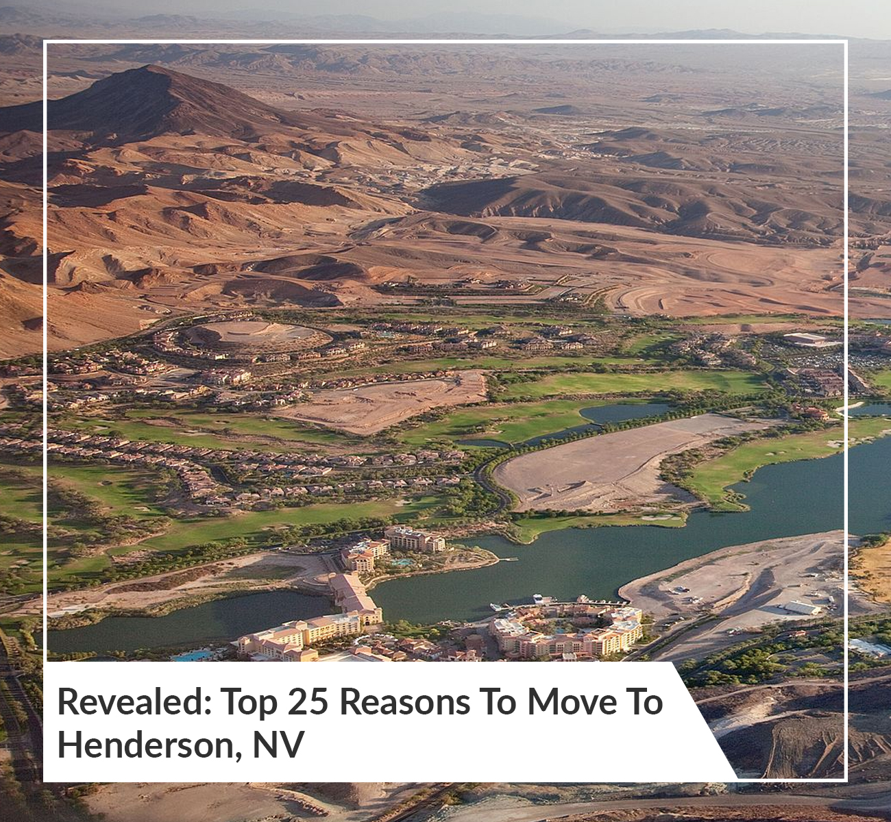 Reasons To Move To Henderson