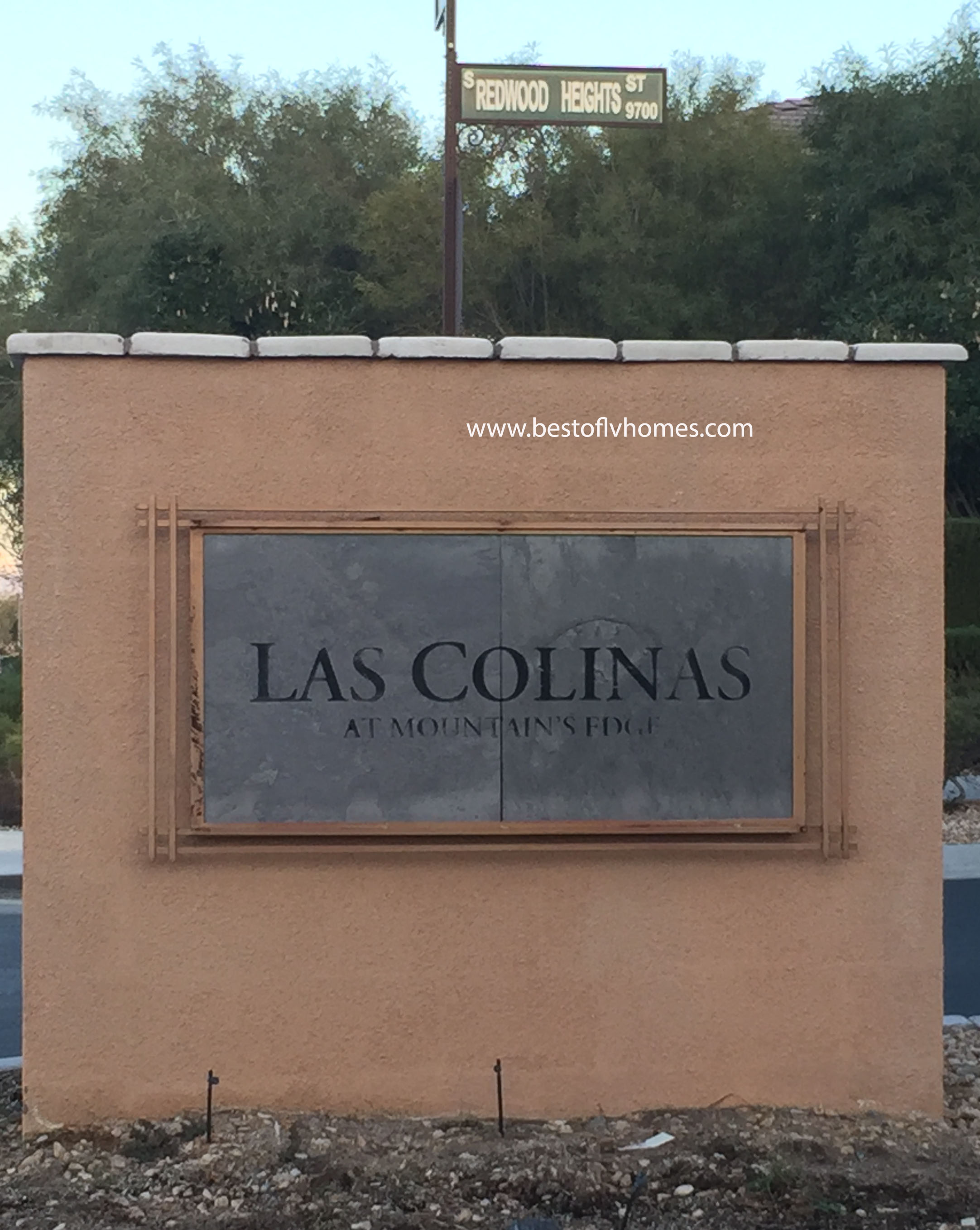 Las Colinas Mountains Edge Las Vegas Real Estate