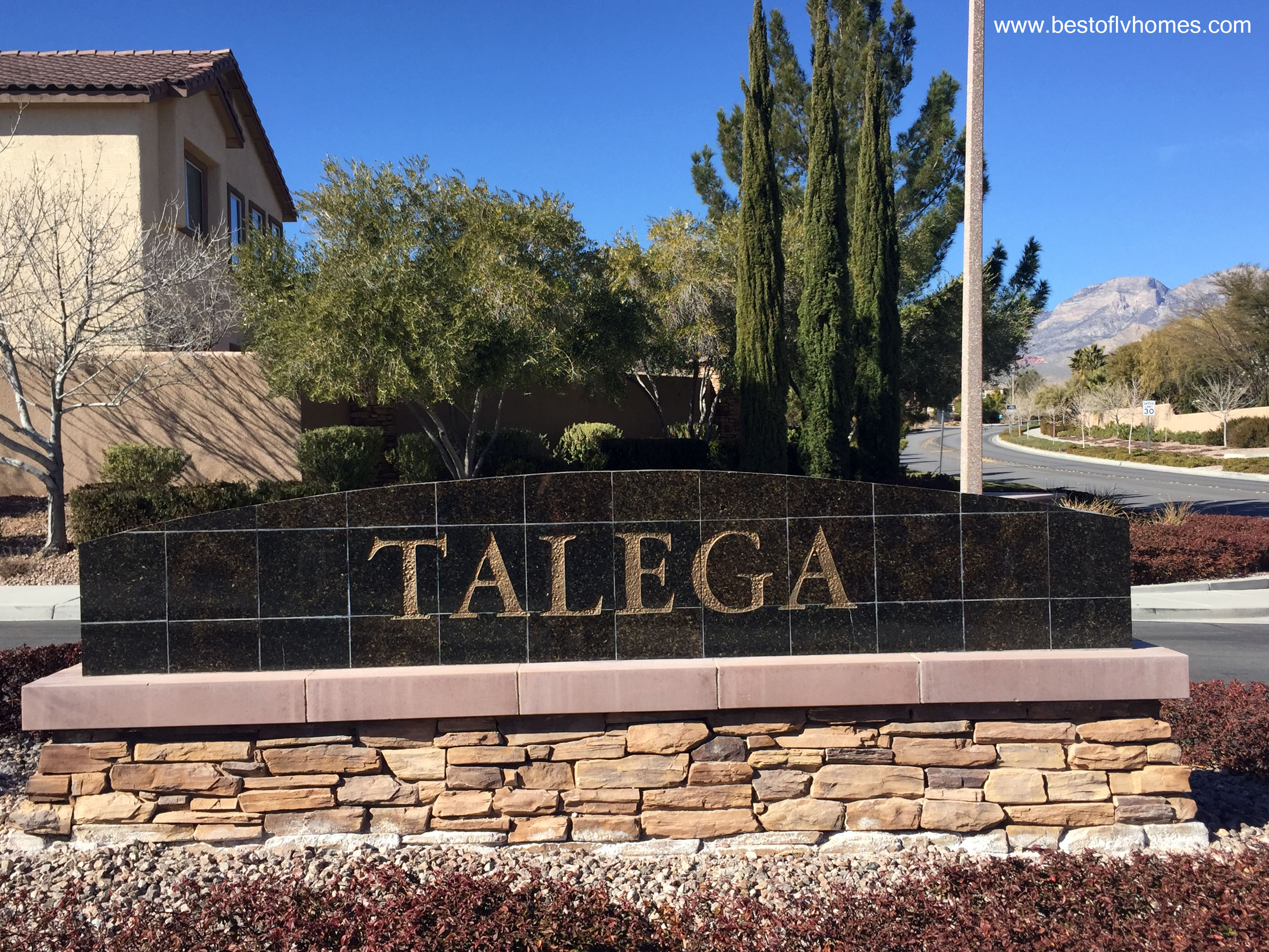 Talega Summerlin The Vistas Las Vegas Real Estate
